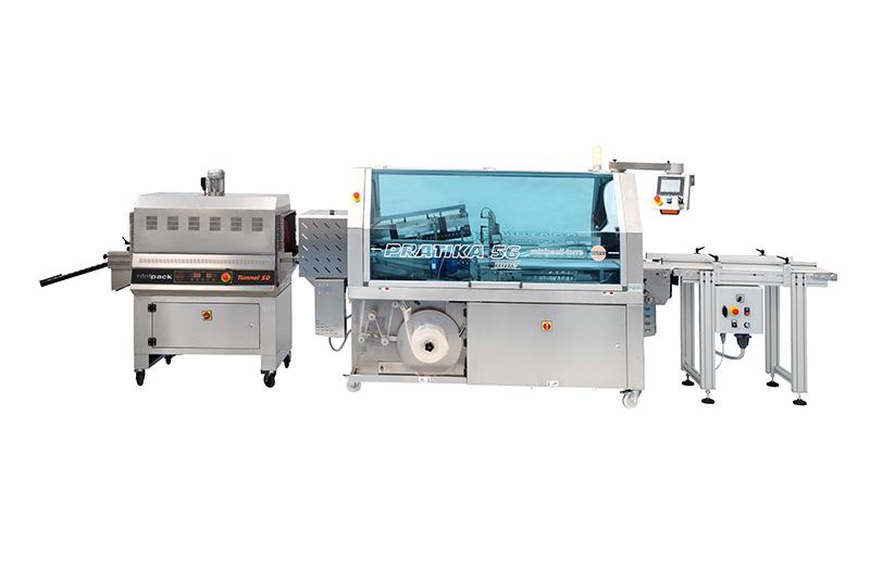 Linea confezionamento termoretraibile automatica