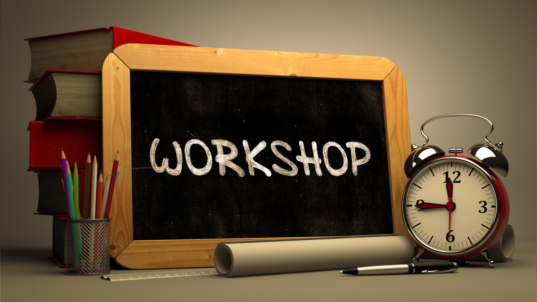 In Autunno ritornano i nostri workshop gratuiti: ecco un'anticipazione!