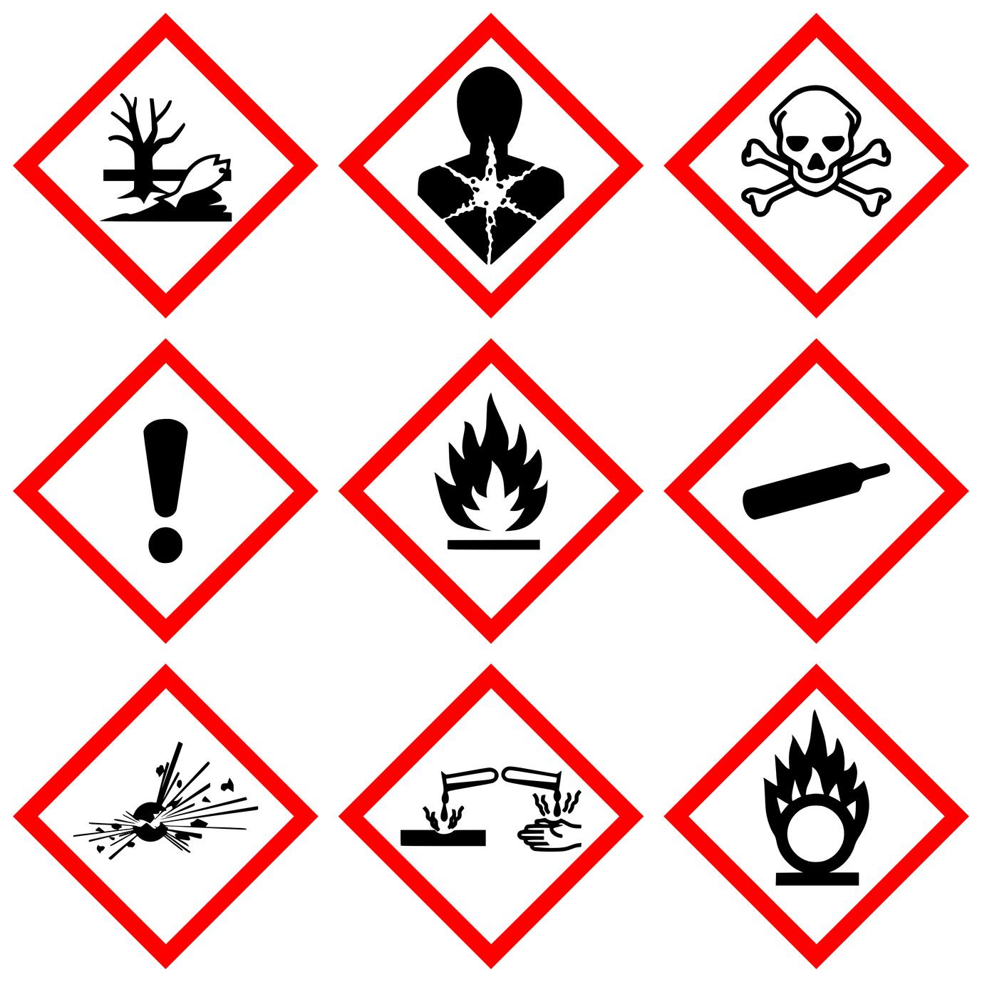 Stampanti per etichette : etichette chimiche GHS – CLP , stampanti a colori o a trasferimento termico?