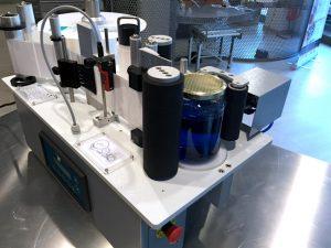 Etichettatrice semiautomatica per tondi