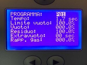 Display di dialogo sottovuoto M inipack Torre MVs 45 XP
