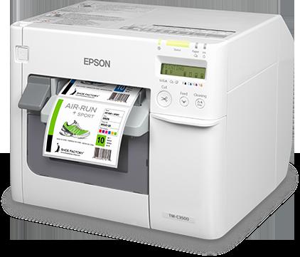 Stampante per etichette adesive a colori Epson Colorworks c 3500