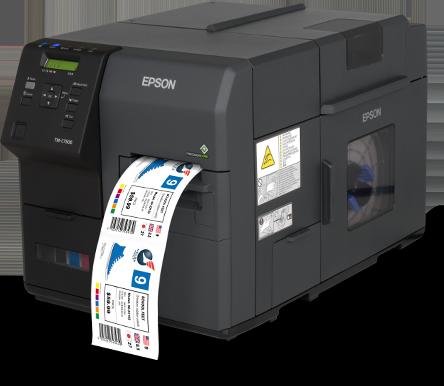 Stampante per etichette a desive Epson colorworks C 7500