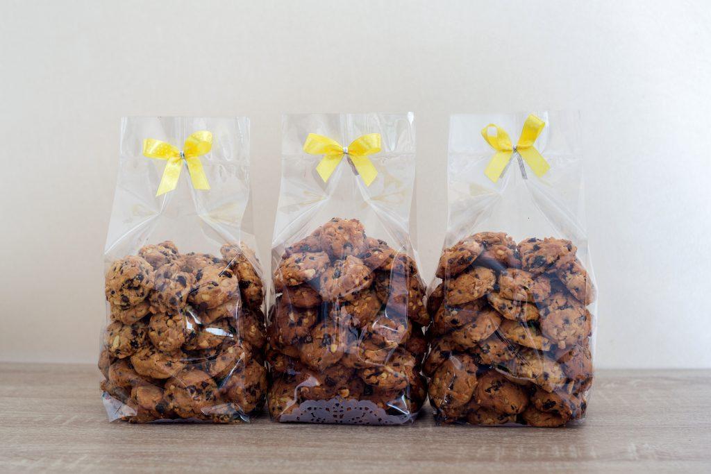 Macchine per confezionare biscotti in busta