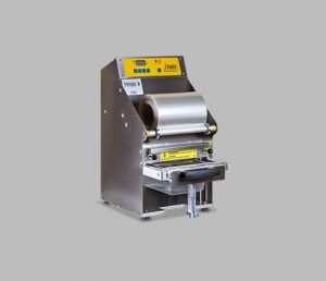 Termosigillatrice per vaschette semiautomatica