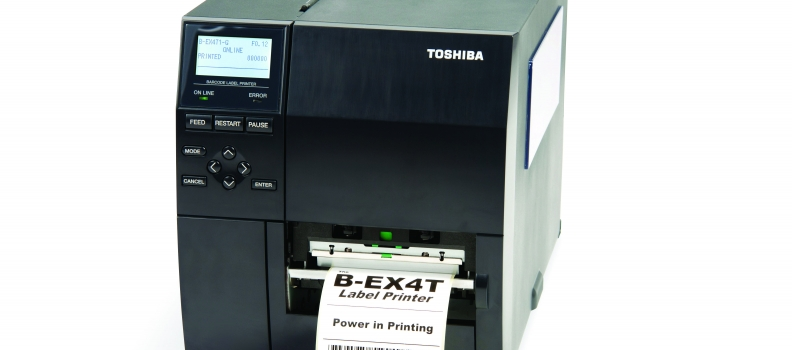 Stampanti per etichette: Calibrare il sensore di una Toshiba BEX4T