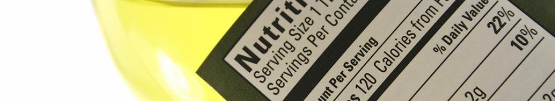 Tabella valori nutrizionali sui vostri prodotti