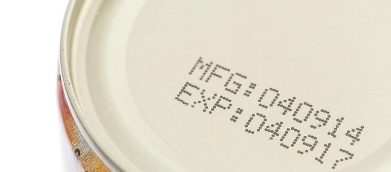 Etichette alimentari: Reg. 1169/11 data di scadenza e termine minimo di conservazione